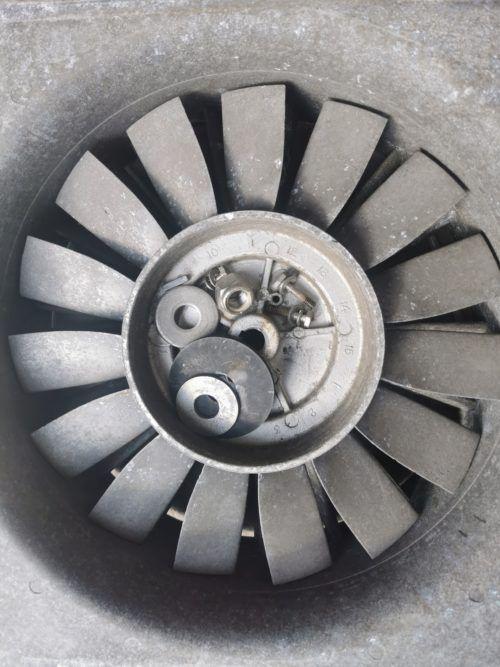 Крыльчатка вентлятора испарителя Carrier